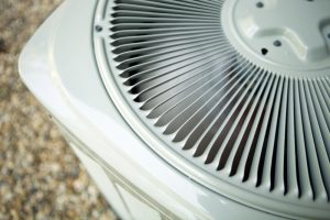 top view of an air conditioner unit
